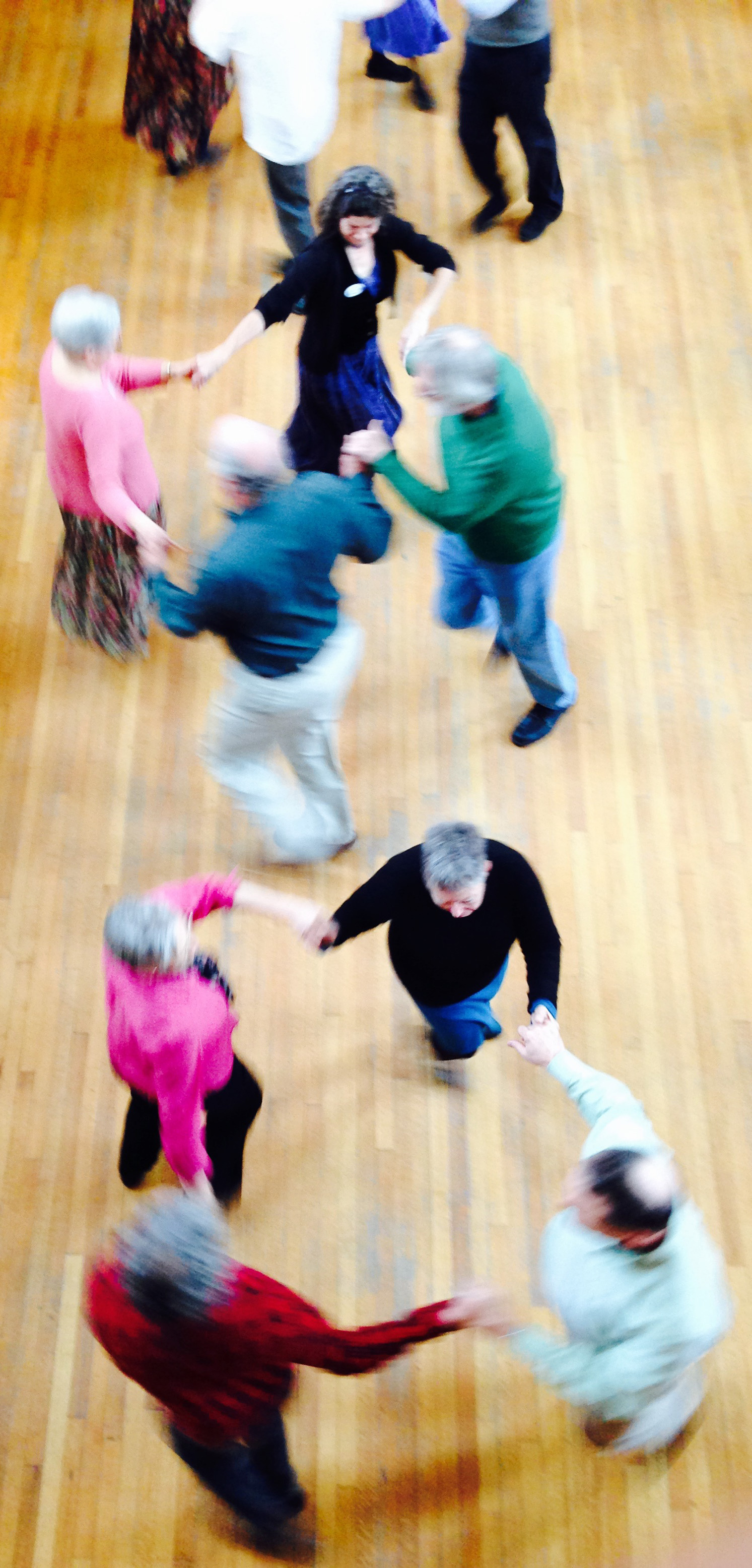 English Country Dance in Bass Hall, 2015