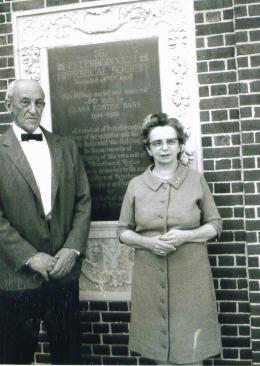 Board Presidents George Abbot Morison and Charlotte Derby