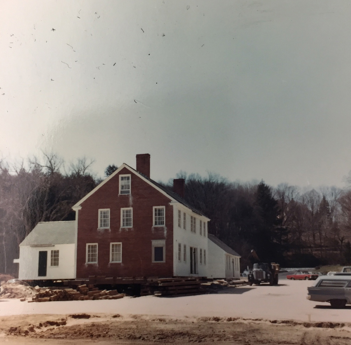 Moving the Mill Houses in 1966