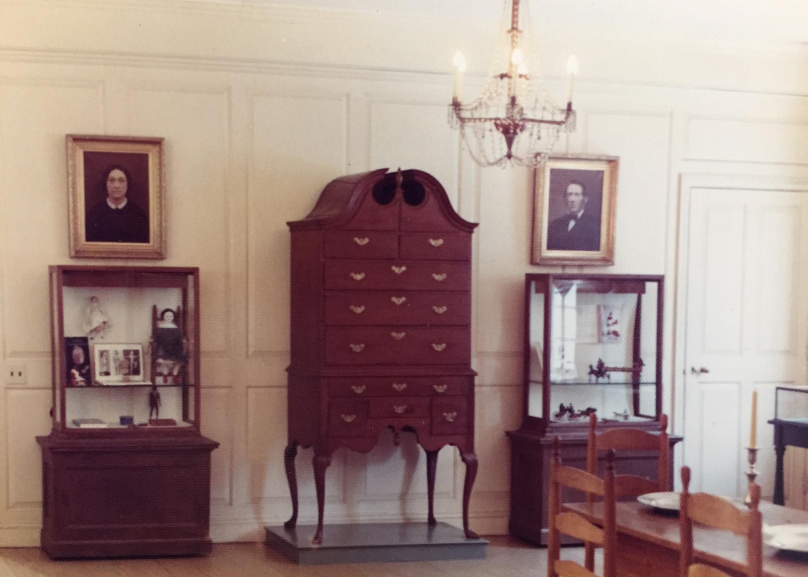 Museum room in 1975