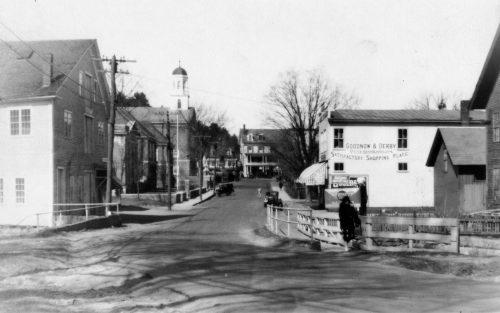 View of Grove Street, Peterborough circa 1921