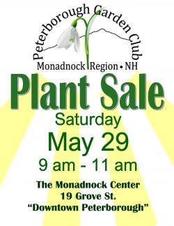Peterborough Garden Club Plant Sale