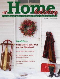 At Home Holiday 2015 Cover