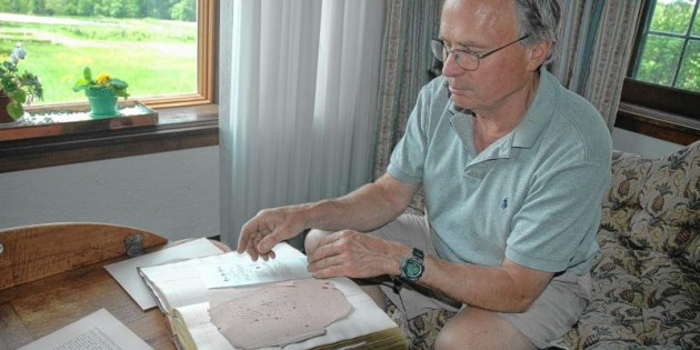 The book on Peterborough: LATE 1700s: Charlie Bass to donate ledger — a piece of his family's history — to town.