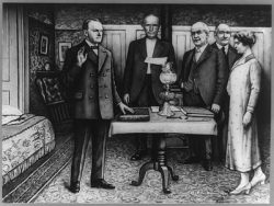 Coolidge Sworn in as 30th President