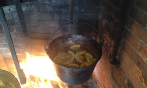Hearth mulled cider