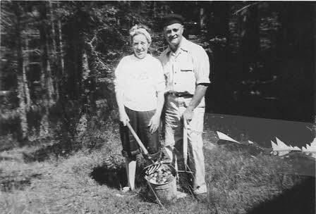 Doris and Raymond Morse, mid 1960's.