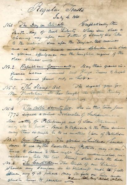 July 4th in 1840