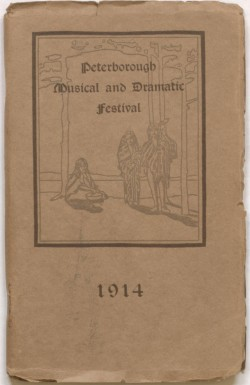 Peterborough Festival Program Cover