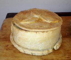 A Standing Pie or Coffin