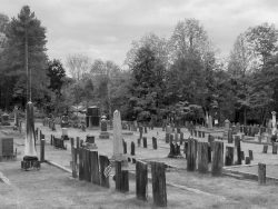 View of Village Cemetery