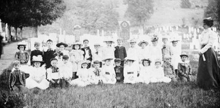 Village Cemetery school web