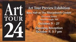 Monadnock Art Tour Preview Exhibition