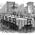 """""""The Dinner Party: Getting Together Over the Centuries"""" A 1750-1950 Historic Dinner"""
