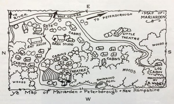 M is for Mariarden - map