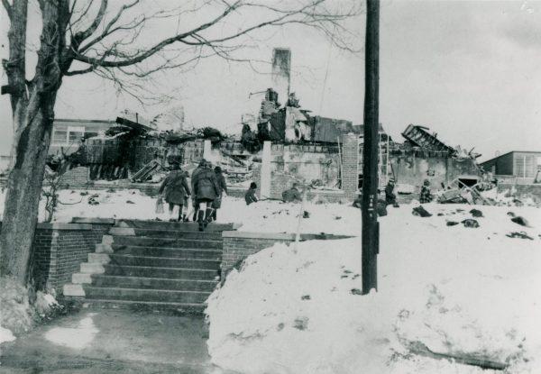 Christmas Fire, 1970