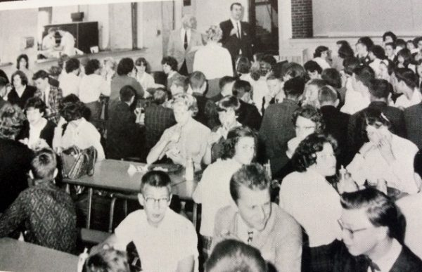 Students in the Cafeteria